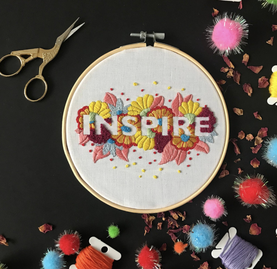 embroidery kit etsy